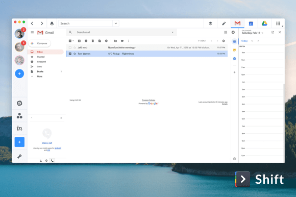 Gmail desktop app