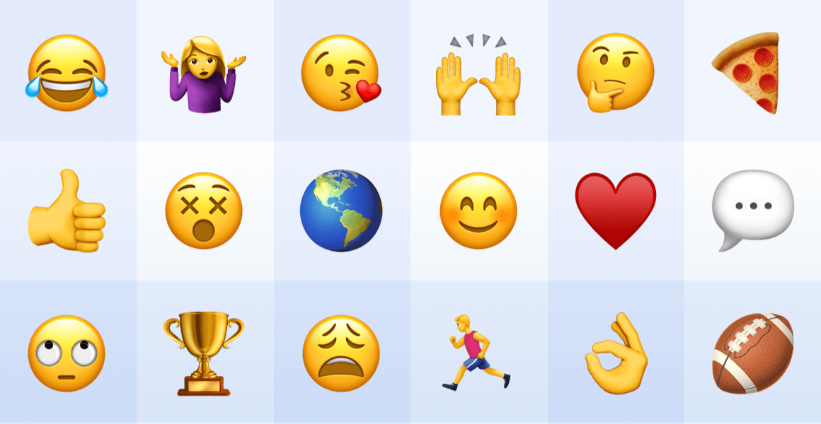 How To Use Emojis For Team Productivity Blog Shift This is the easiest copy & paste way, all in one emoji collection for facebook, messenger, google, twitter.all you need with emoji realtime search ability, you can easily search, copy and paste the. how to use emojis for team productivity