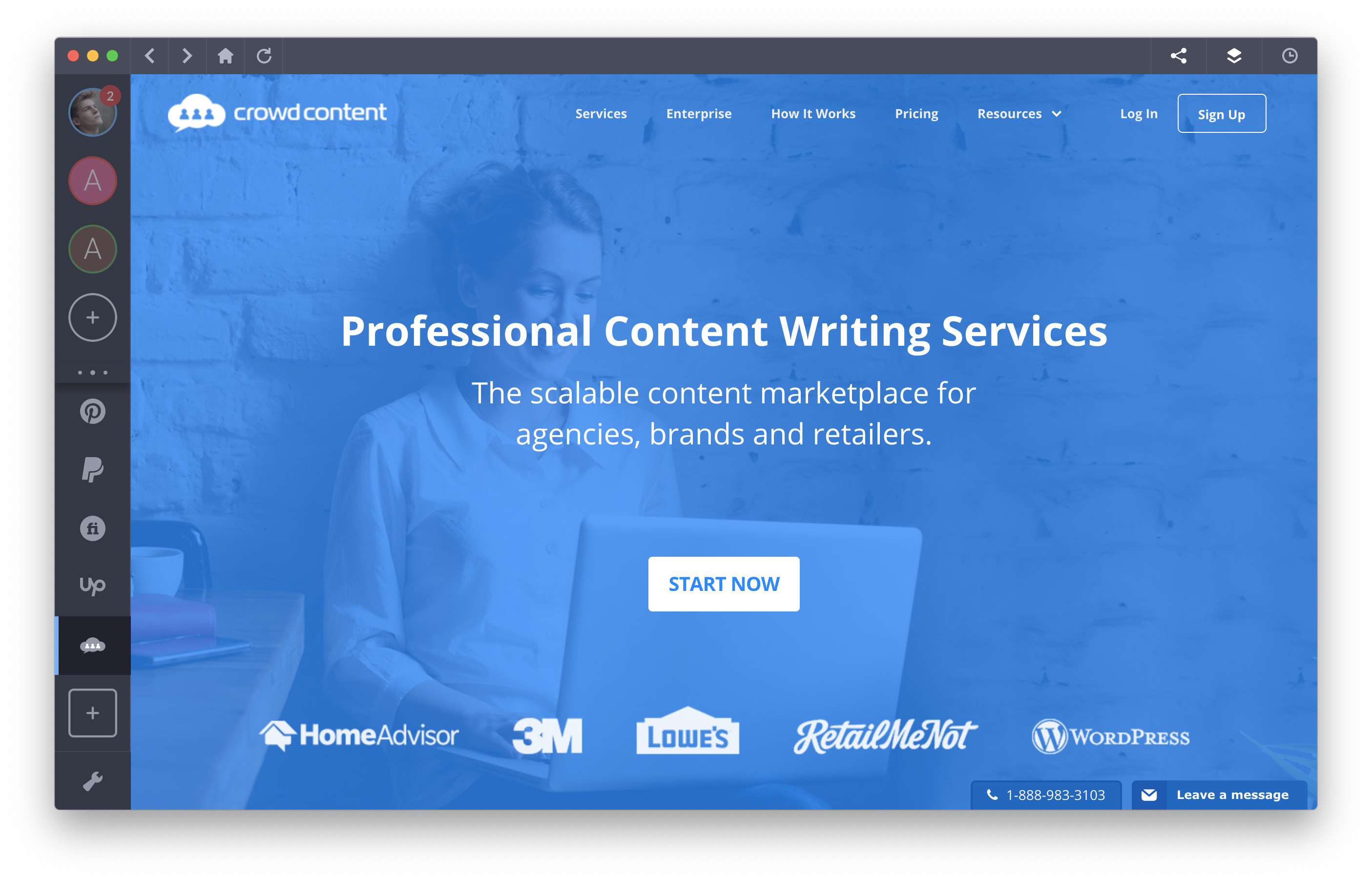 freelance platform - crowdcontent
