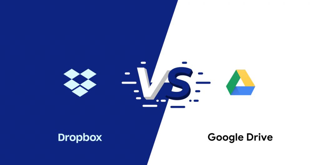 dropbox vs google drive