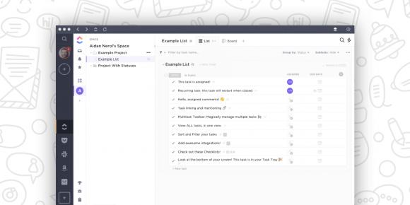 ClickUp Shift screenshot
