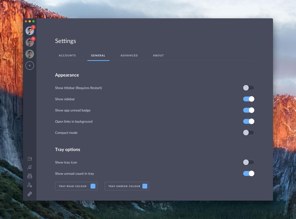 Shift settings - old 3