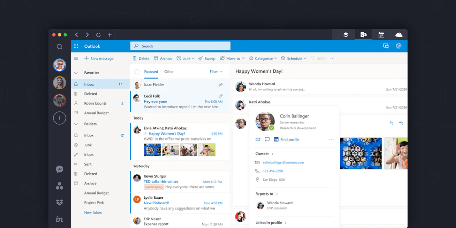 outlook ui