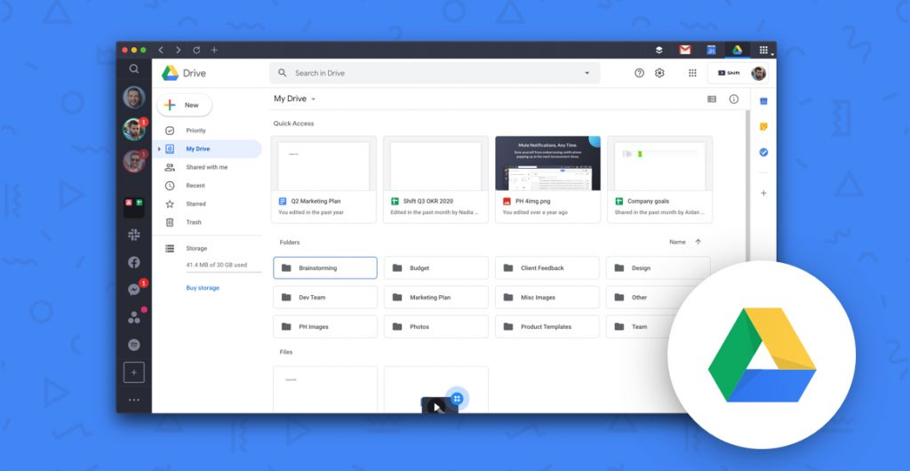 manage multiple google drive accounts