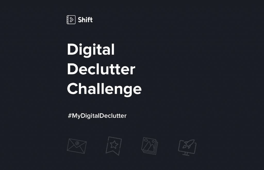 digital declutter cover