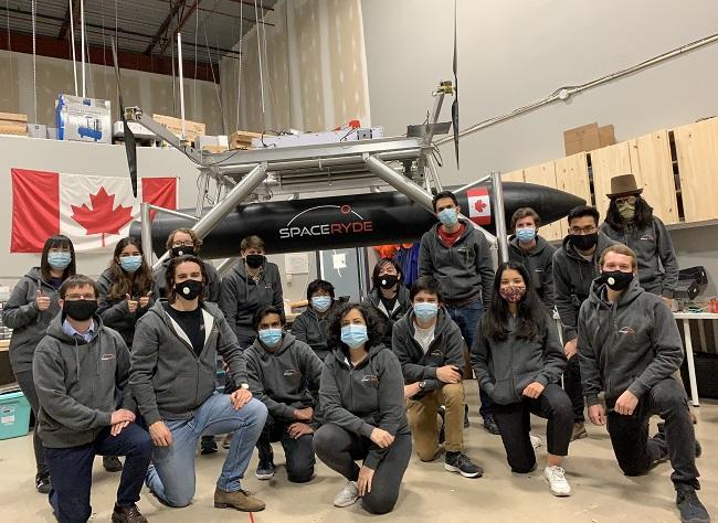 spaceryde-team photo
